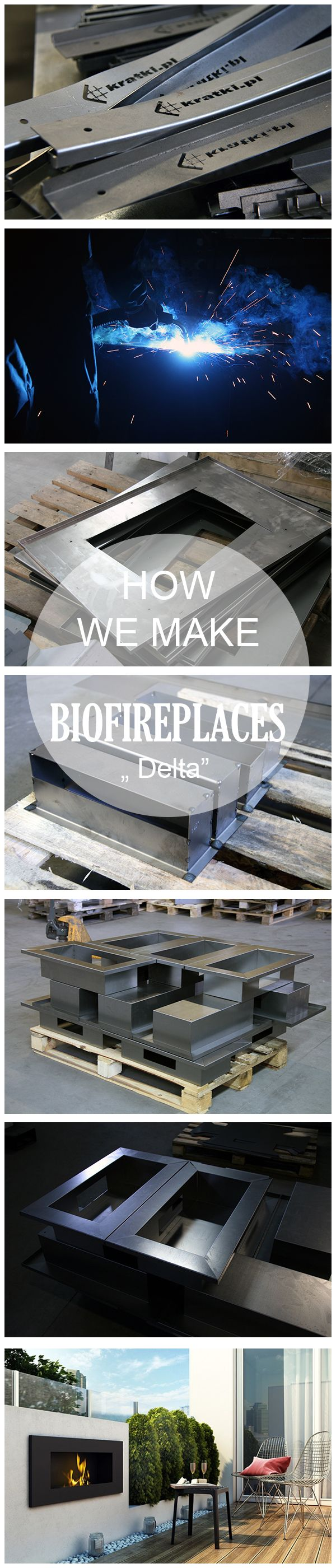 How we produce our biofireplace? Take a look at production steps. Today we show DELTA.