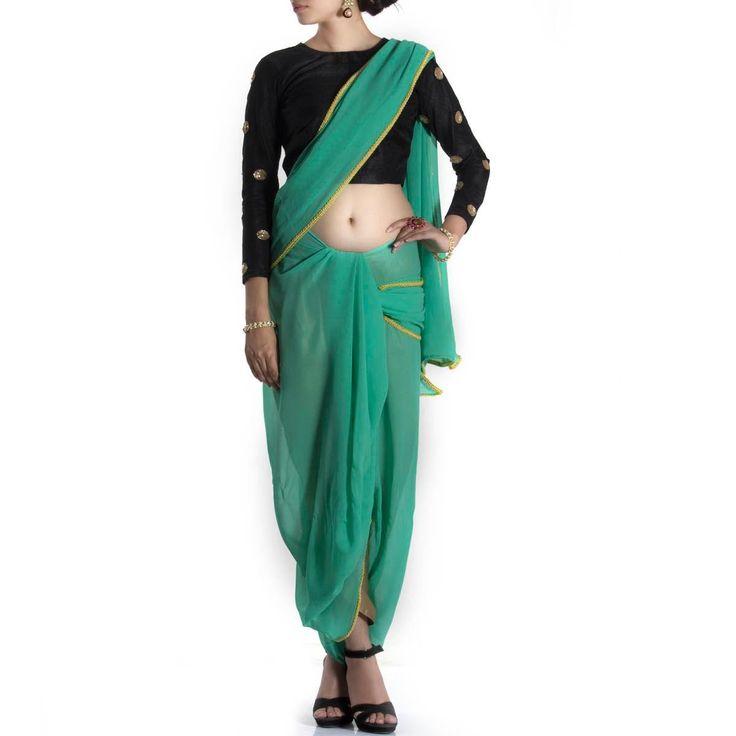 Abena dhoti saree - Contemporary Drapes - Events | Tijori