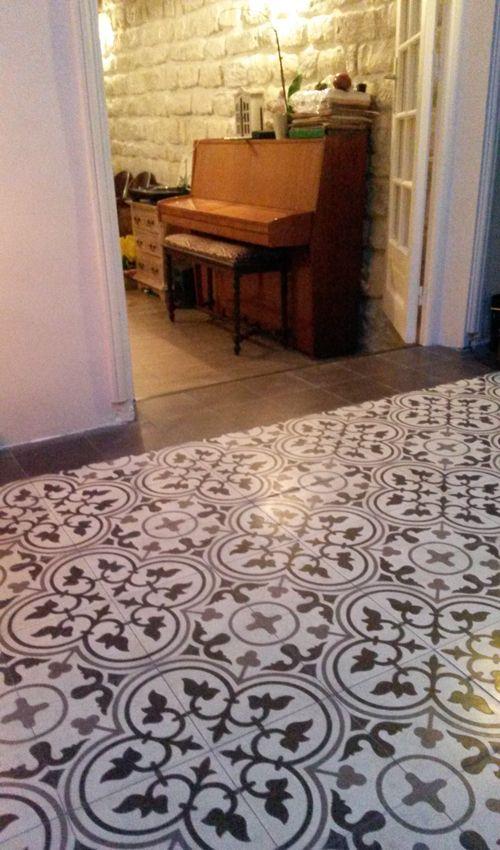 17 best images about carreaux de ciment on pinterest With good exemple plan de maison 17 parquet chevron mon parquet