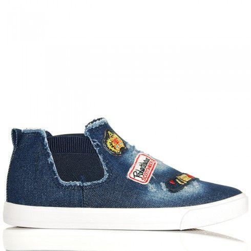 http://buu.pl/pl/sneakersy-trampki/6173-trampki-ciemny-jeans-modne-kolorowe-naszywki201703101.html