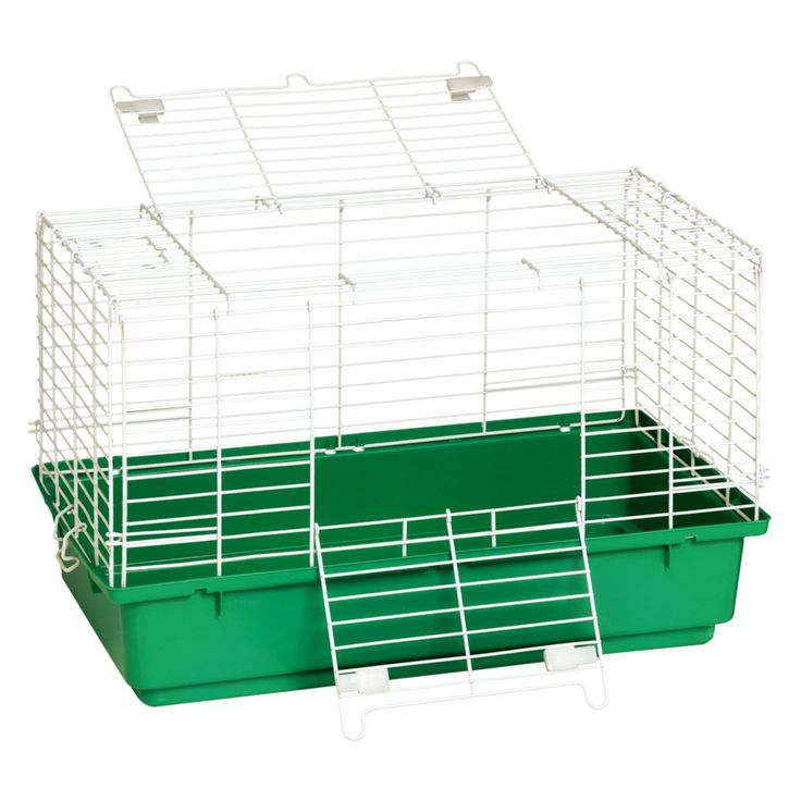 Little Giant Farm & Ag Rabbit Cage with Plastic Tray - 2261-0216