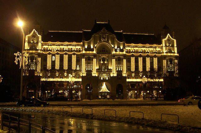 Four Seasons Gresham Palace Hotel #Budapest #travel #palace