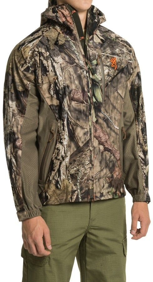 Browning Hell's Canyon Packable Rain Jacket (For Men)