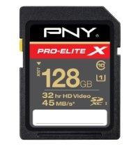 PNY SDXC Class 10 High Speed Flash Memory Card #128GB #SDXC