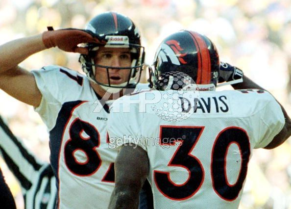 Ed McCaffrey and Terrell Davis giving the Denver salute.  I miss those days!