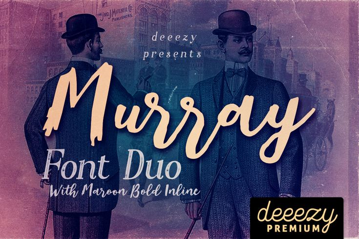 Murray Script Font Duo | Deeezy - Freebies with Extended License