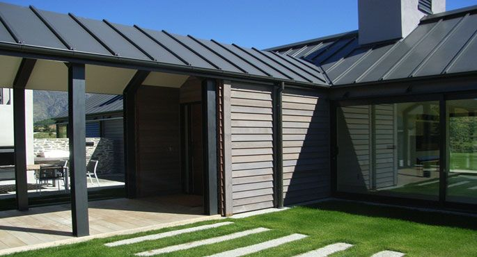 Tray Roofing - European styled variable Tray Roofing systems | Copper | Zinc | Aluminium | Steel - Gallery - Architectural Roofing roll formed onsite in New Zealand