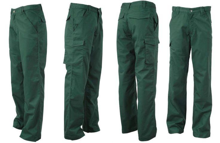 Pantaloni da lavoro Uomo Lunghi 34  Multitasche Peso medio Taglie forti 58 60 62