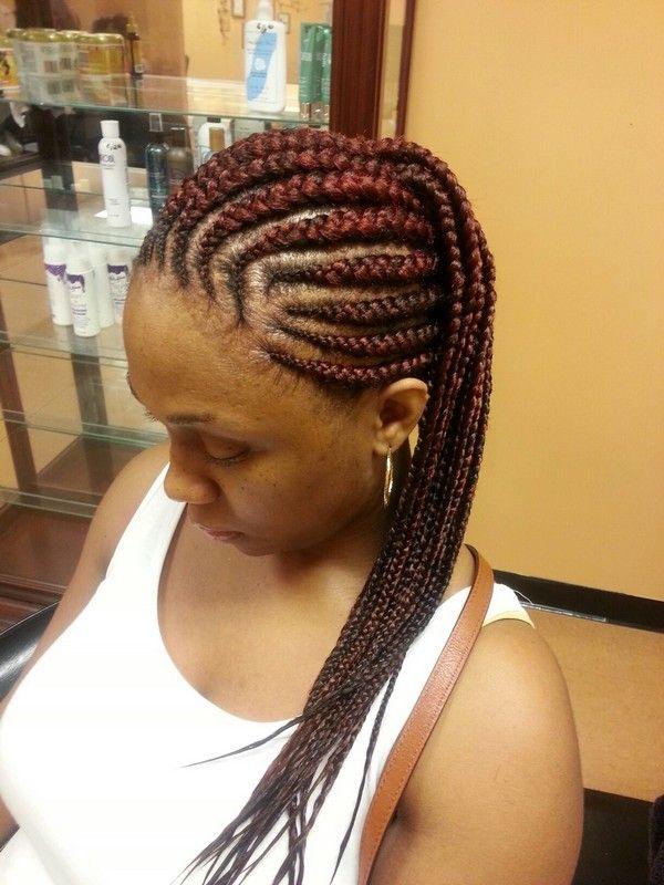 Ghana braids, Braids and Ghana on Pinterest - photo #34
