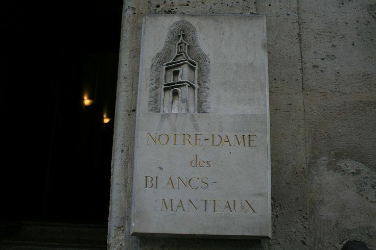 Eglise Notre-Dame des Blancs-Manteaux