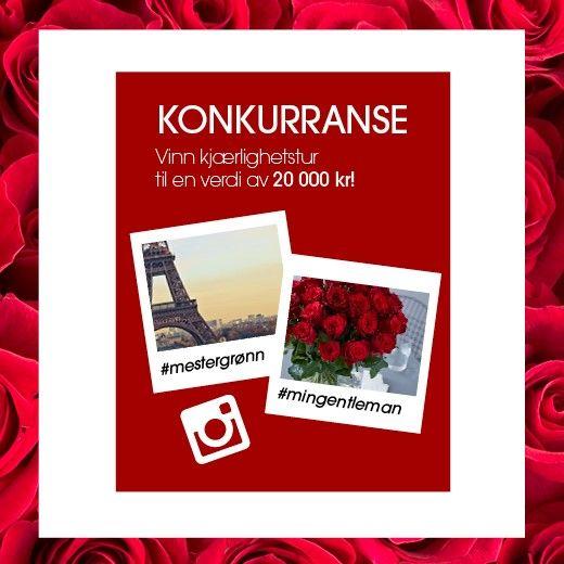 Vinn romantisk tur for to: http://www.mestergronn.no/blogg/vinn-romantisk-tur/