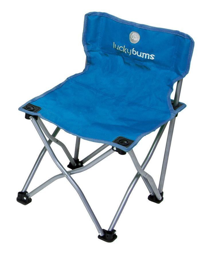 Take a look at this Lucky Bums Blue Kids Camp Chair today!