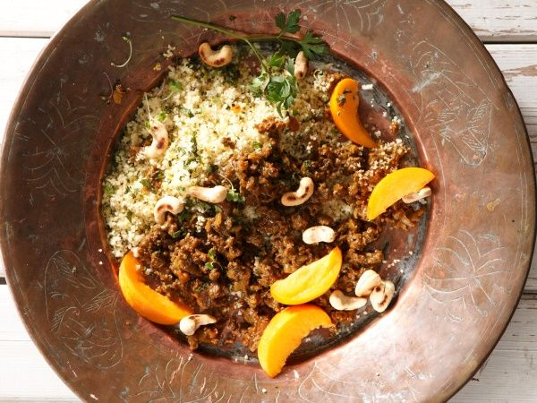 • Mince couscous salad •  Quick and easy comfort food that's actually good for you.