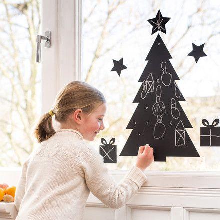 Chalkboard Christmas Tree zum Verzieren