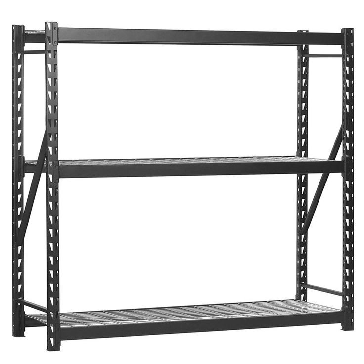 Muscle Rack Commercial Shelving Unit - ERZ601872W-3
