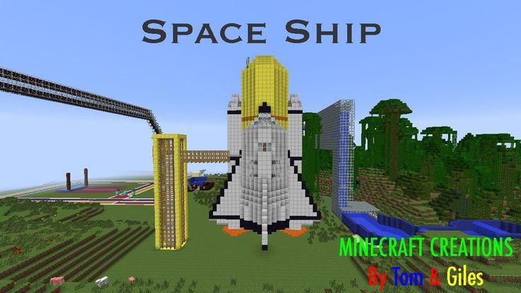 Minecraft Rocket Ship