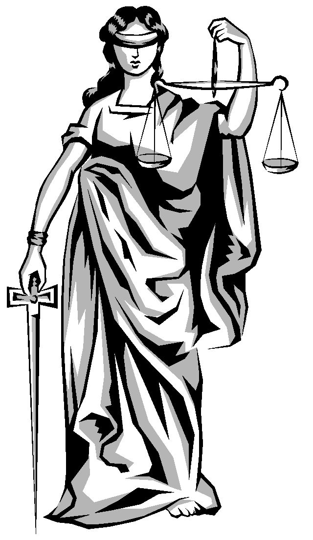 Image result for law of justice lady with balance in hand animation