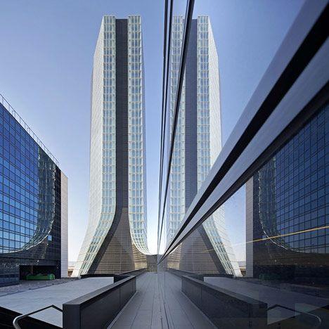 #ARQUITECTURA CMA CGM Headquarters by Zaha Hadid