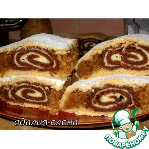 Яблочный пирог с рулетом: Russian Yummies, Interesting Recipes, Russian Baking, Russian Recipes, Hungarian Cakes, Russian Food, Video Und Fotorezepte, Pastelillos Dulces