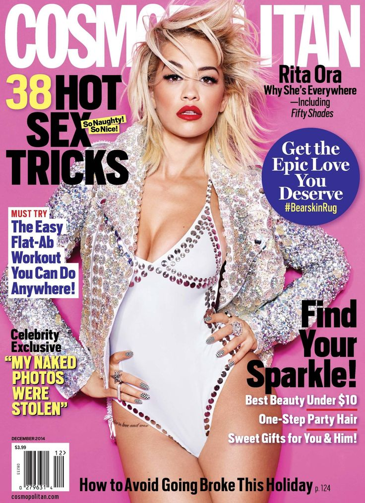 Rita Ora en couverture du magazine Cosmopolitan - Décembre 2014 / / #cover #ritaora #cosmopolitanmagazine #model #photoshoot #girls #sexy #revue #journal #revista #rivista #portada #hot #femme #nude #woman