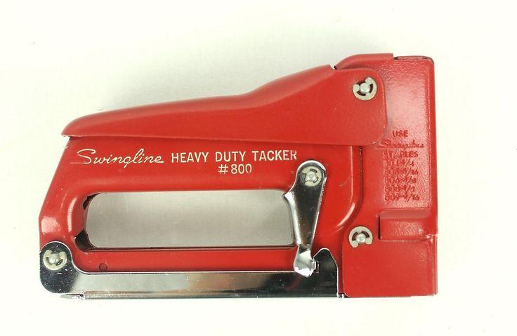 The Swingline staple guns