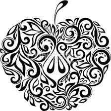 Resultado de imagem para desenho preto e branco flores