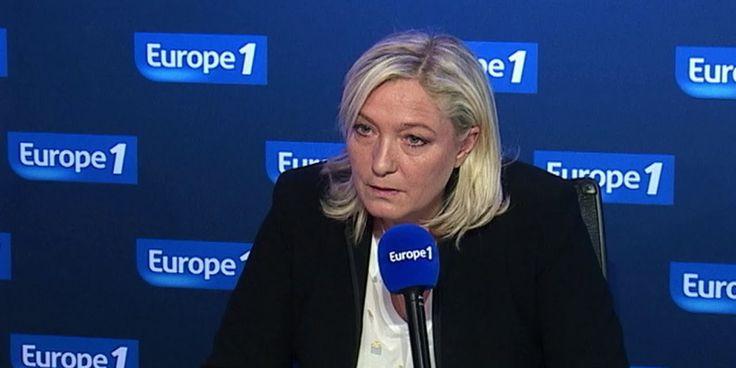 """Marine Le Pen : """"Hillary Clinton est un grand danger pour la France"""""""