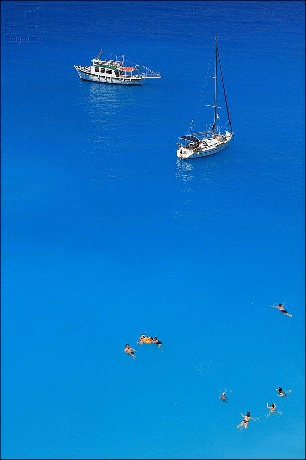 Porto Katsiki - The magic blue of ionian islands sea - Lefkada island - Ionian islands - Greece
