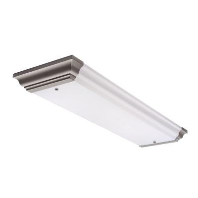 Marvelous Rigby 4 Light Flush Mount White Ceiling Fluorescent Light Fixture Lithonia  $114 (w/