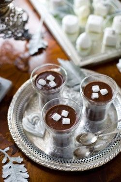 Hot chocolate wedding dessert table ideas   photography by http://www.corbingurkin.com/