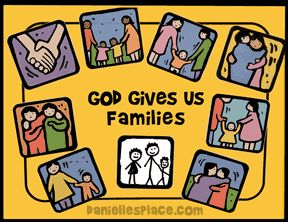God Gives Us Families Picture