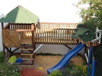 Kinderhochbett mit rutsche selber bauen  Die besten 25+ Spielturm selber bauen Ideen auf Pinterest ...