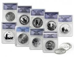 Accelerator Package MS70 Coins