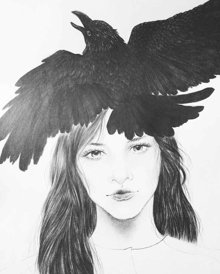 Raven queen  —by ©mervyvalencia