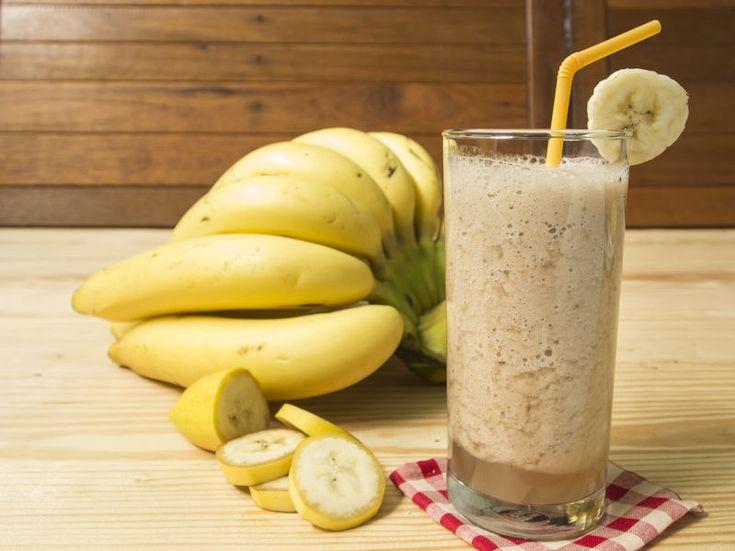 Batidos de banana para retención de líquidos y perder peso