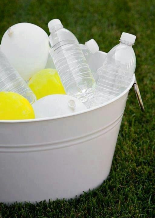 Great idea! Freeze water balloons for ice packs to keep things chilled!