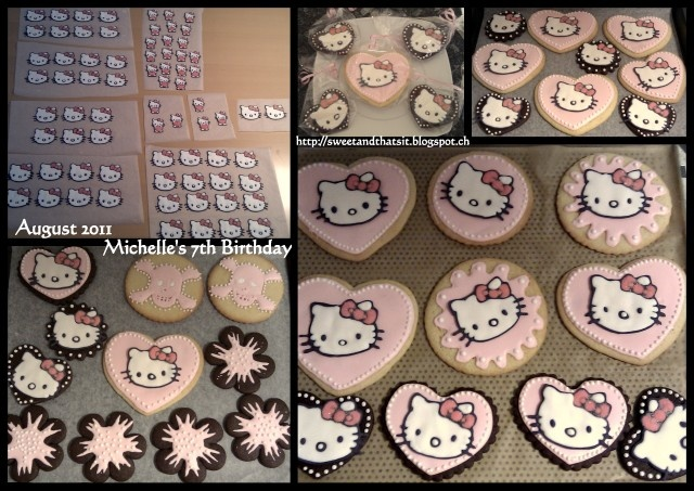 Sweet and That's it: Hello Kitty Cookies - Biscotti Hello Kitty