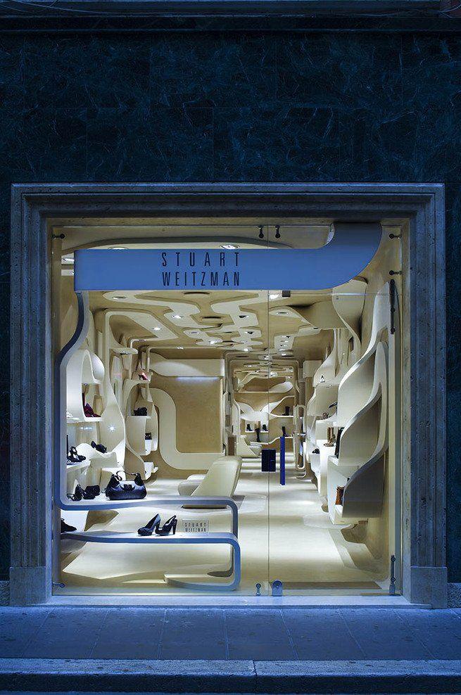 Stuart Weitzman Store in Rome, Italy by Fabio Novembre