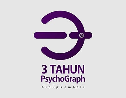 """Check out new work on my @Behance portfolio: """"logo 3 yeras of psychograph"""" http://be.net/gallery/50046959/logo-3-yeras-of-psychograph"""
