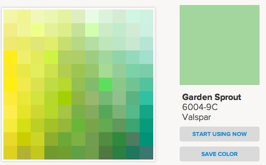 Mint Green paint