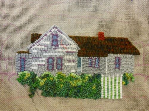 Grandparents Home Designed And Hooked By Jan Rug Hooking