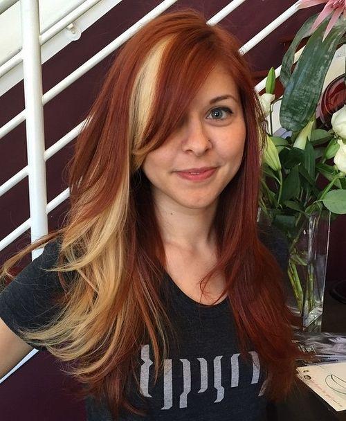 Best 25 Peekaboo Hair Colors Ideas On Pinterest