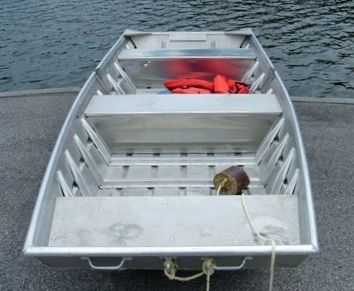 Jon Boat With Cast Aluminum Boat Handles Duck Boats