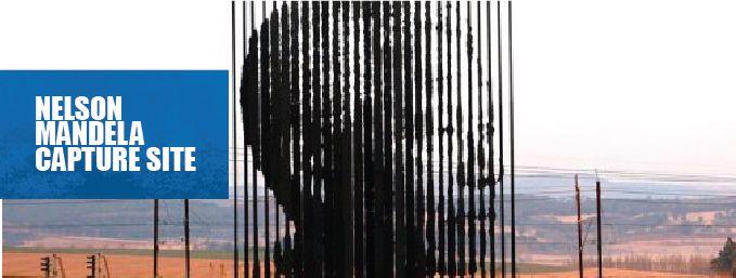 Nelson Mandela Capture Site Banner #MandelaMarathon