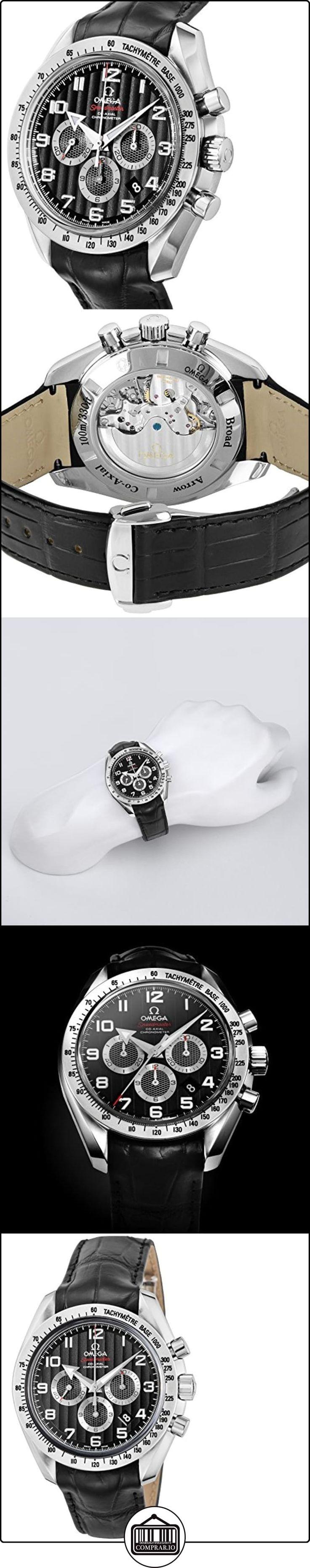 Omega Speedmaster amplio Flecha Cronógrafo Automático Negro Dial Mens Reloj 321.13.44.50.01.001  ✿ Relojes para hombre - (Lujo) ✿