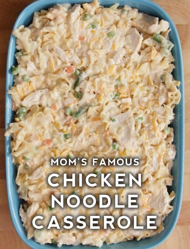 Chicken Noodle Casserole Recipe Chicken Noodle Casserole Recipe Chicken Noodle Casserole Noodle Casserole Recipes