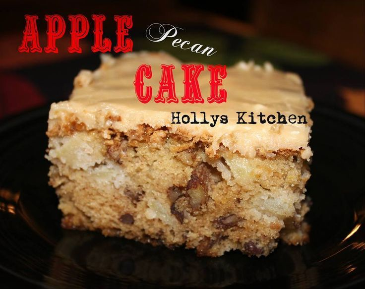 So moist and delicious!!! APPLE PECAN CAKE Ingredients: 1 cup vegetable oil 2 cups Sugar 3 eggs 3 cups flour 1 teaspoon baking Soda 2 teaspoons Vanilla extract 1 cup Chopped Pecans 3 cups peeled and...