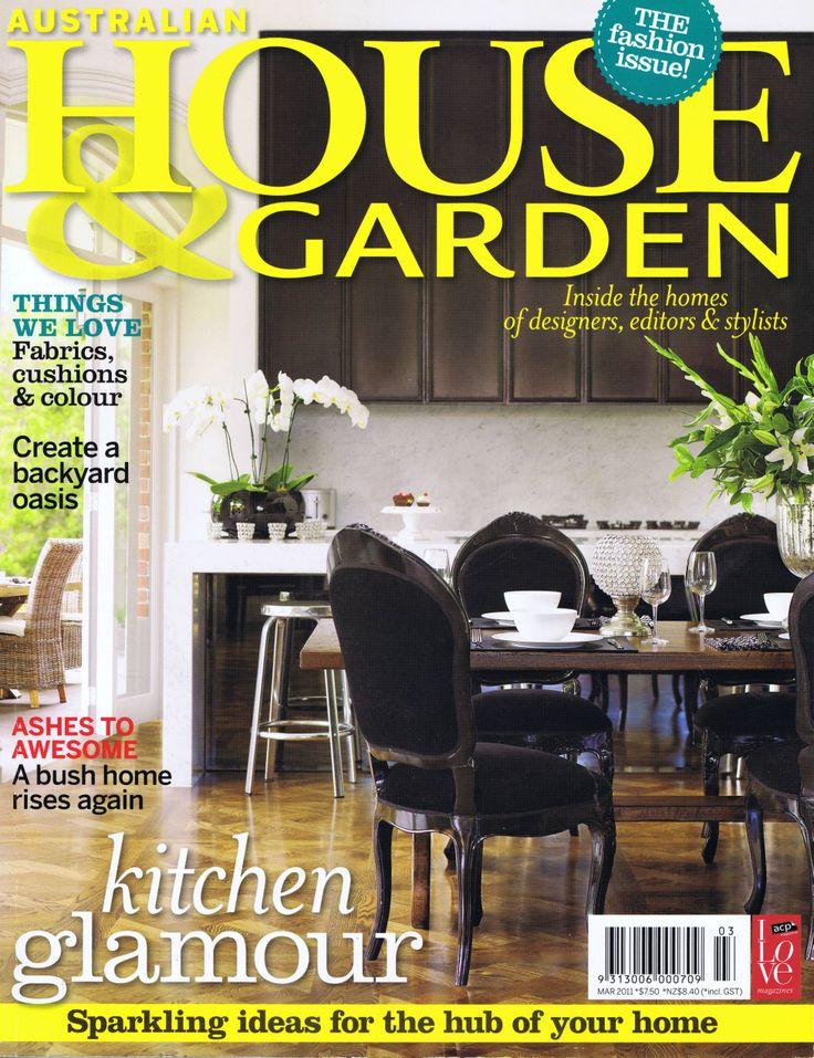 House & Garden March 2011 Cover Brooke Aitken Design