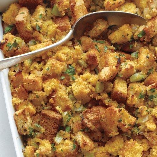 Herb And Bacon Corn-Bread Stuffing Recipes — Dishmaps