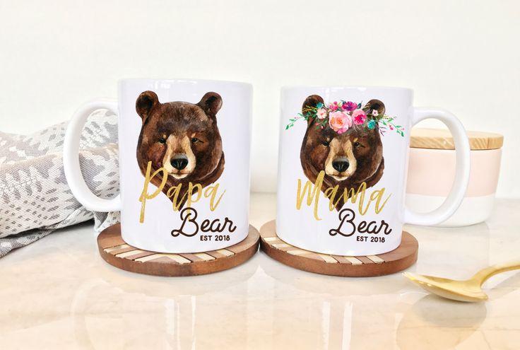 Mama Bear Mug, Papa Bear Mama Bear, Papa and Mama Bear, Papa Bear Mug, Papa and Mama Bear Mugs, Papa Bear Mama Bear Mugs, Papa Mama Bear by TheMugDistrict on Etsy https://www.etsy.com/listing/496295463/mama-bear-mug-papa-bear-mama-bear-papa